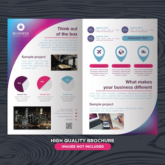 Modern and elegant brochure for multi purpose