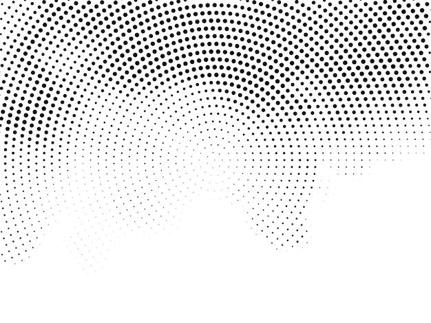 Modern elegant halftone background