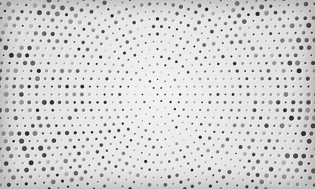 현대 우아한 하프톤 디자인 흰색 배경