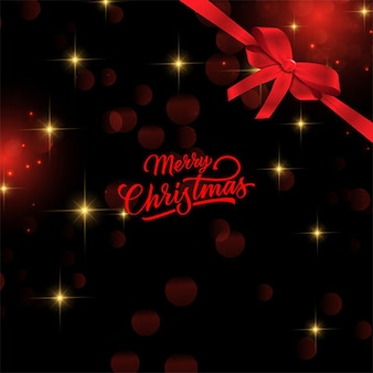 Modern elegant merry christmas background with red ornaments