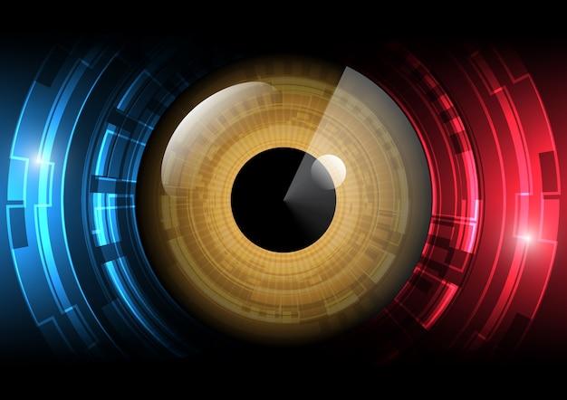 Modern eye illustration