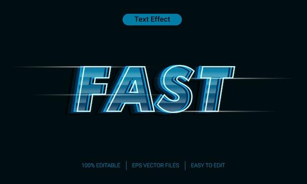 Современный быстрый текстовый эффект