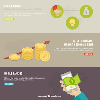 Modern finances infography