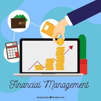Modern financial management composition