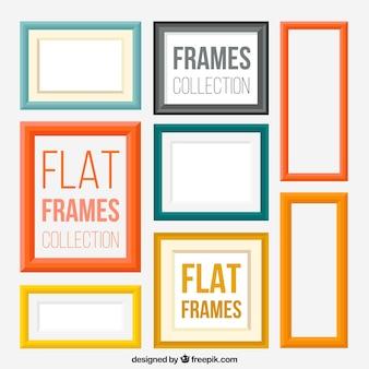 Modern flat frames