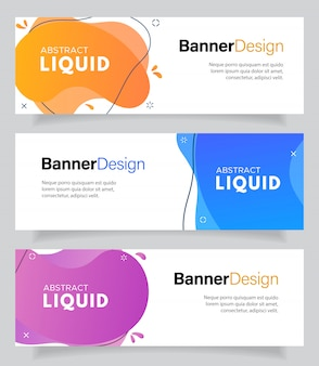 Modern fluid for flash sale banners