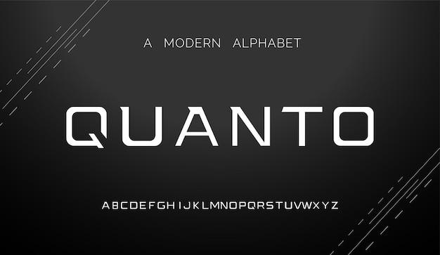 Современные шрифты креативные современные алфавитные шрифты