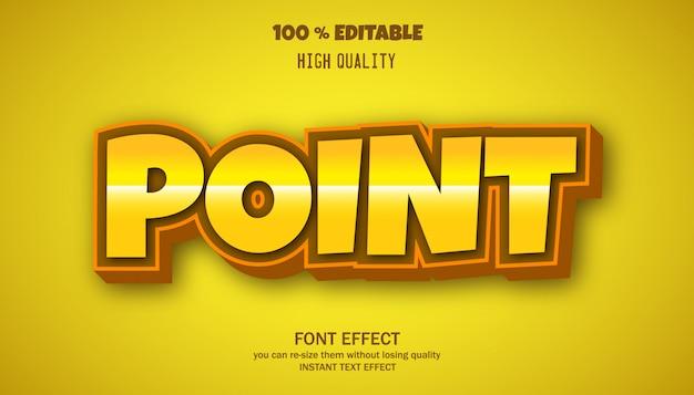 배너 및 스티커에 대한 현대 글꼴 효과