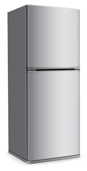 Modern fridge refrigerator icon