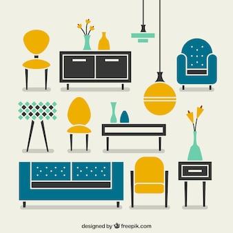 モダンな家具