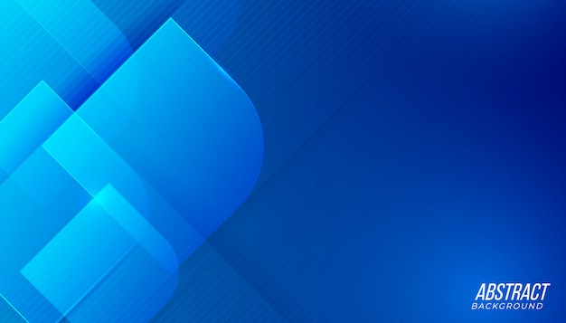 Modern futuristic blue light technology abstract background