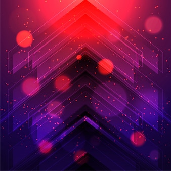 Modern futuristic hi tech abstract background with arrows element.