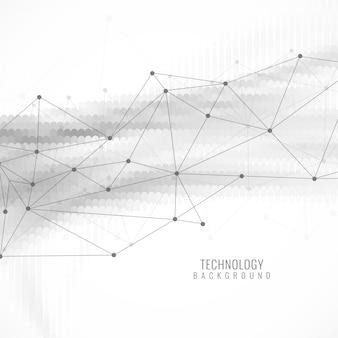 Modern futuristic technology background Free Vector
