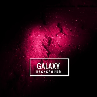 Modern galaxy background in fuchsia color