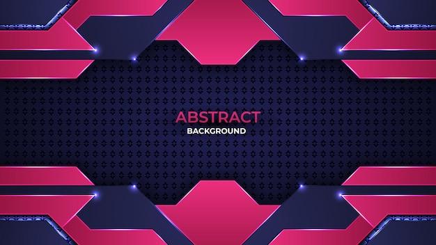 現代のゲームの抽象的な背景デザインプレミアムベクトル