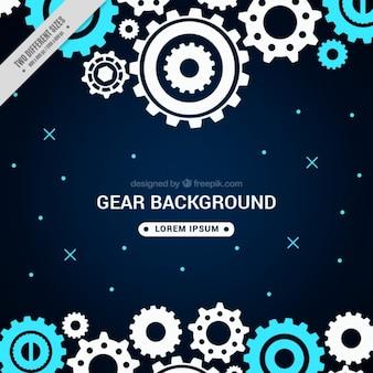 Modern gear background