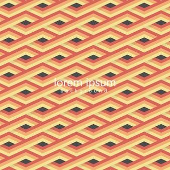 フラットなデザインのモダンな幾何学的背景