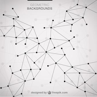Вектор современной шаблон треугольники