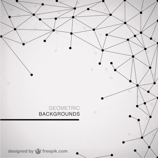 Modern Geometric Background