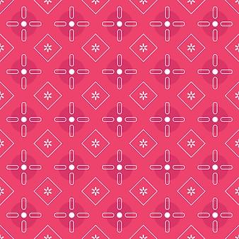 Современный геометрический батик бесшовные модели