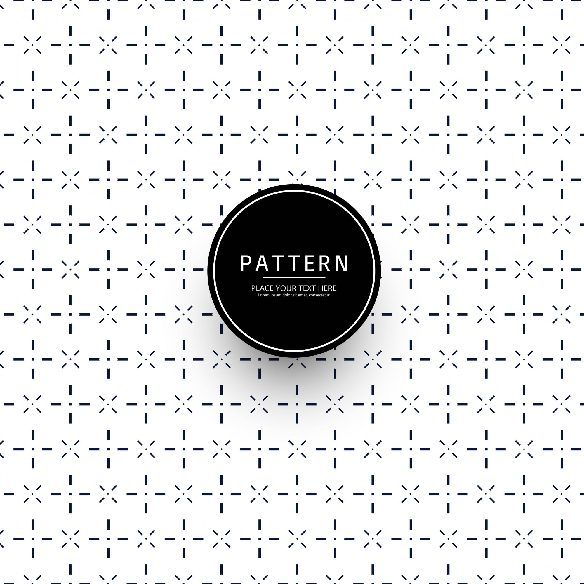 Modern geometric pattern background
