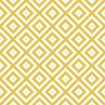 Modern geometric rhombus seamless pattern.