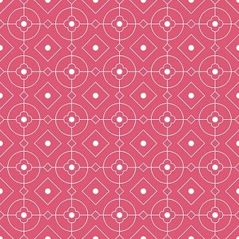 현대 기하학적 완벽 한 패턴 배경입니다. 클래식 바틱 벽지.