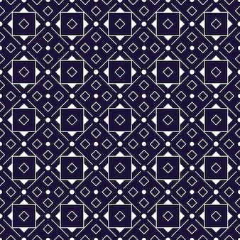 Modern geometric seamless pattern background. classic batik wallpaper.