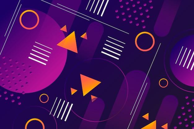 Carta da parati moderna di forme geometriche
