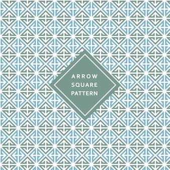 Modern geometric square arrow pattern texture background