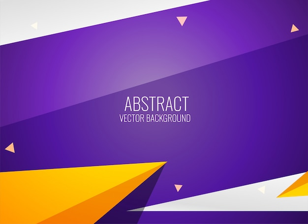 Modern geometric style template design