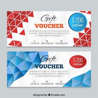 Modern gift coupons