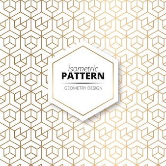 Modern gold pattern texture background