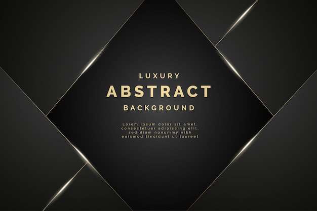 Modern golden and black luxury background