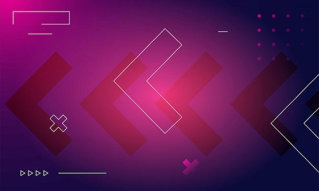 Modern gradient shapes composition background