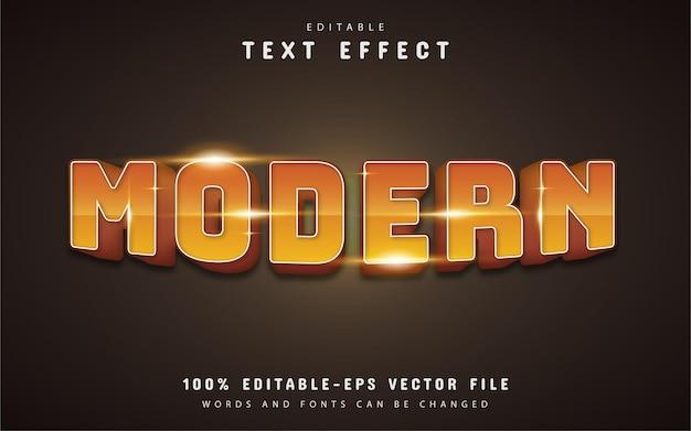 Современный градиентный текстовый эффект
