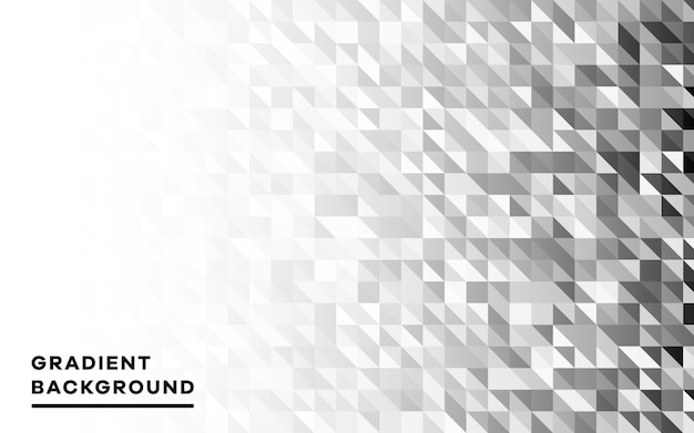 Modern gray geometric shapes background