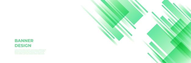 モダンな緑のバナーの背景。ベクトル抽象的なグラフィックデザインバナーパターン背景テンプレート。