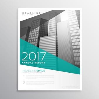 Modello moderno di disegno del brochure del manifesto del flyer di affari in formato a4