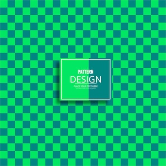 Modern green pattern background