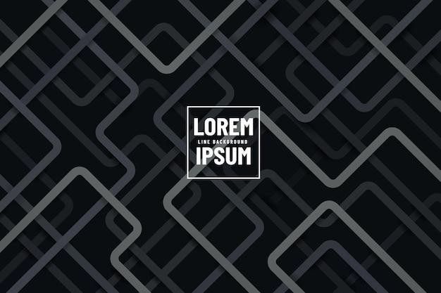 어두운 배경에 현대적인 회색과 검은 색 기하학적 라인 겹치는 레이어.