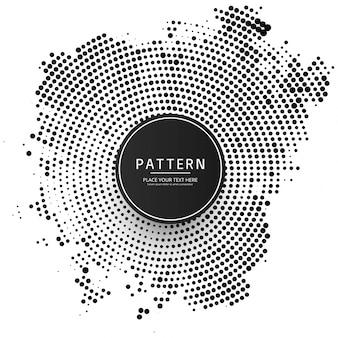 Modern halftone background illustration