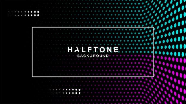 Modern halftone background