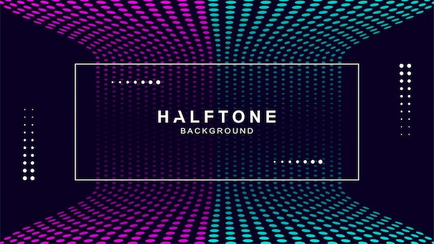 Modern halftone background