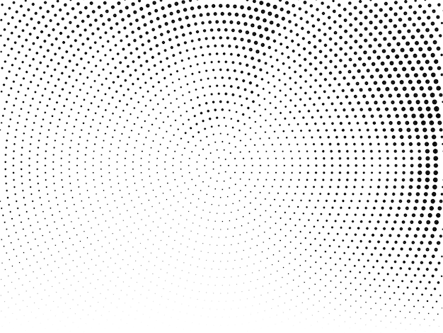 Modern halftone design background