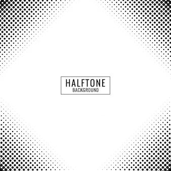 Modern halftone pattern design