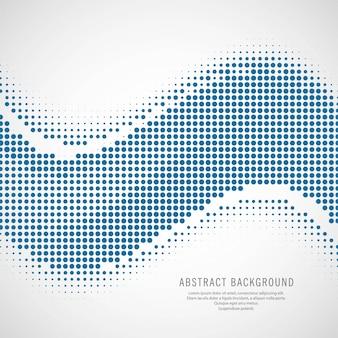 現代のハーフトーン波の背景