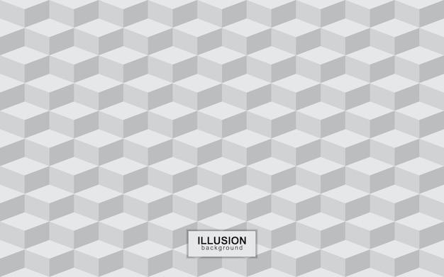 Modern hexagonal pattern
