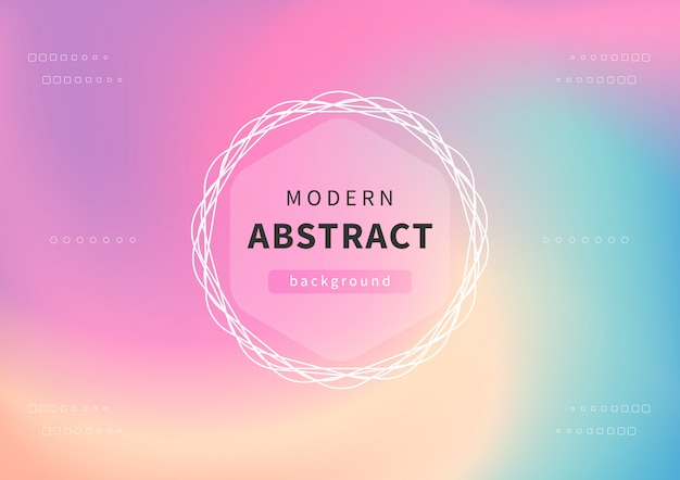 Modern holographic abstract background. pastel background for creative project design.