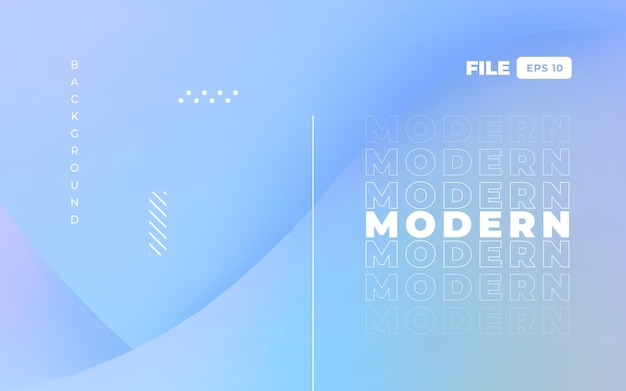 Современный голографический дизайн целевой страницы